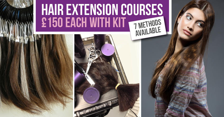 La weave extensions course total hair and beauty training a very popular method extensions are applied to a track built using micro rings and natural hair it is chemical free and relatively long lasting pmusecretfo Gallery